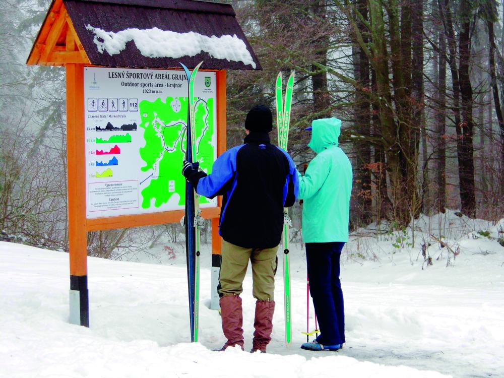 Bežkárske trate v Slovenskom raji: Objavte nádherné miesta na bežkách