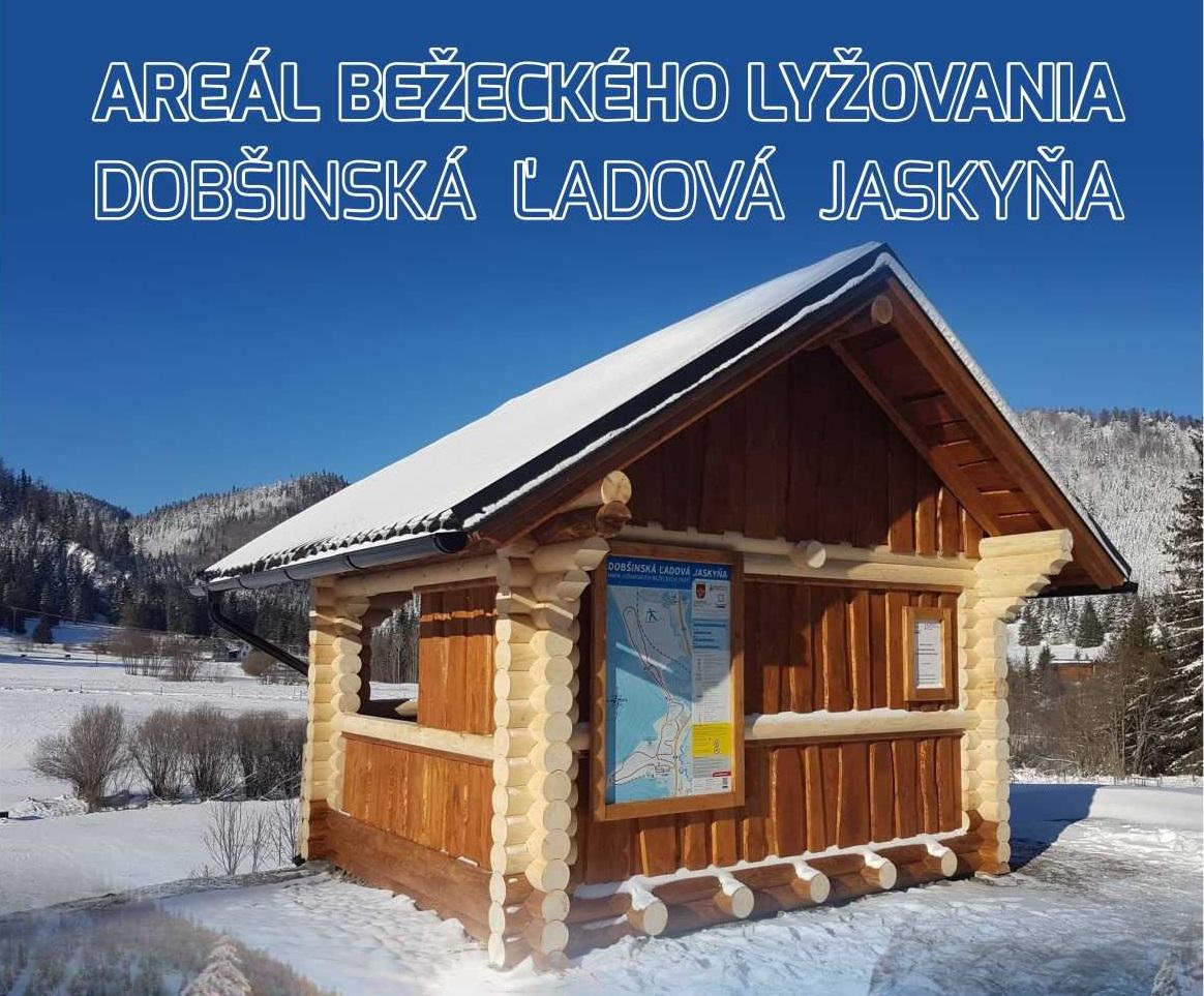 Areál bežeckého lyžovania v Dobšinskej Ľadovej Jaskyni je otvorený