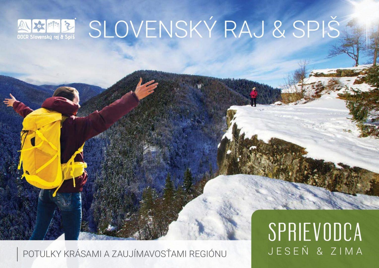 Nová brožúra predstavuje jeseň a zimu v Slovenskom raji a na Spiši